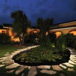 Hotel La Locanda del Cavaliere - Giardino di notte
